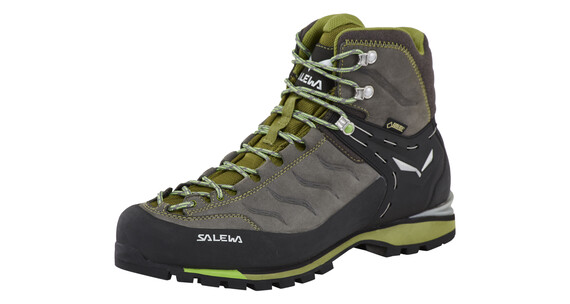 Salewa Rapace GTX Alpine Boots Men pewter/emerald